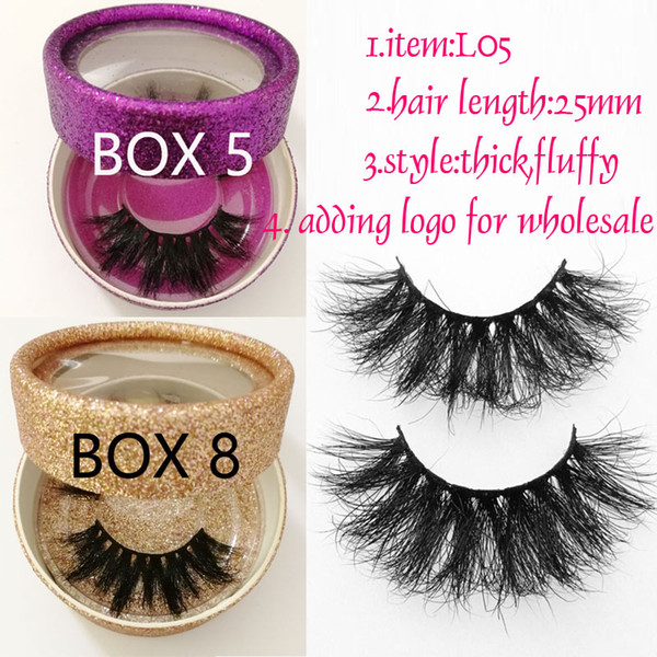 25mm mink hair lashes 25mm 3D Mink Lashes Beauty Long 3D mink lashes thick eyelashes fluffy inside paper for choice