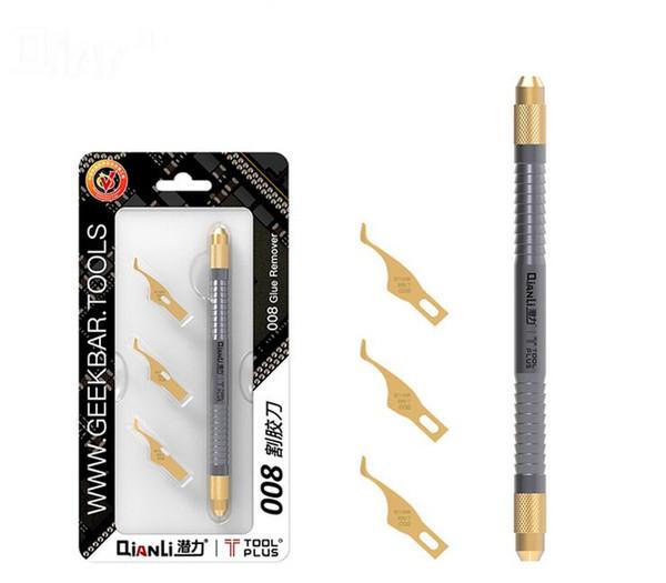 Qianli 007 008 009 Multifunctioal CPU IC Kleber Remover Messer dünne Klinge Motherboard BGA Chip glue Reinigung reibendes Pry Knife