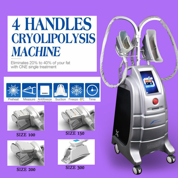Dois Cryo Handles trabalham ao mesmo tempo Cryolipolysis Máquina Fat congelamento Slimming Machine Zeltiq Cryolipolysis Machine