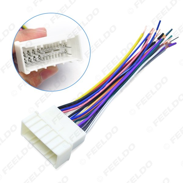 Car OEM Audio Stereo Wiring Harness Adapter For Hyundai/KIA(05~08)Install Aftermarket CD/DVD Stereo #:1559