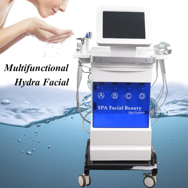 Multifunctional Water Dermabrasion Skin Peel Equipment Hydra Facial Microdermabrasion Oily Skin Improvement Water Dermabrasion Spa Machine