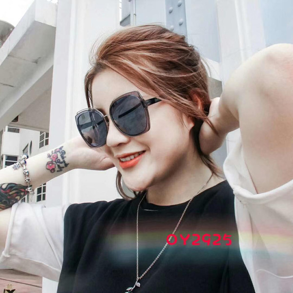 Luxury Sunglasses Designer Sunglasses Fashion Brand G2925 for Woman Glasses Driving UV400 Adumbral with Box New arrive Hot top High quality