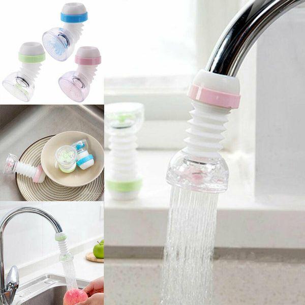 Kitchen Bath Shower Faucet Splash Filter Tap Device Head Nozzle Water-saving Hot