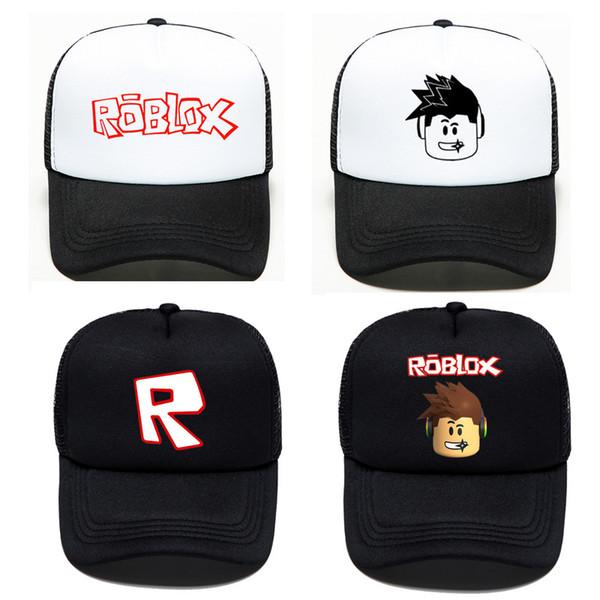 enfants adultes Roblox jeu casquette de baseball été mesh dessin animé en plein air hip hop chapeau populaire soleil homme femmes garçon filles chapeau