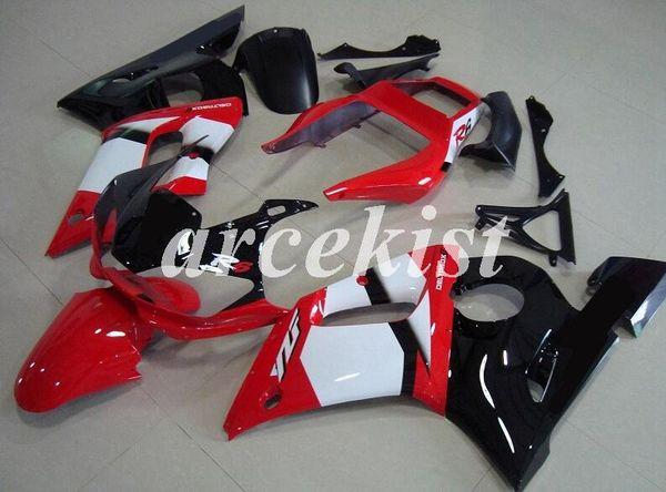 New ABS carénages moto Kit Carénage Set YAMAHA YZF-R6 R6 1998 1999 2000 2001 2002 98 99 00 01 02 noir blanc rouge personnalisé gratuit