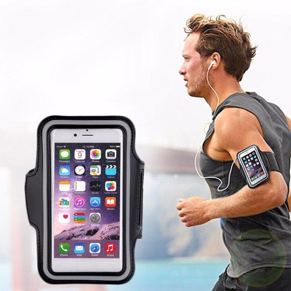 Sacs de course de sport pour téléphones mobiles Ceinture Jogging Gym Brassard Brassard Couverture Housse Etui Titulaire de la Bourse Sacs D'exercice