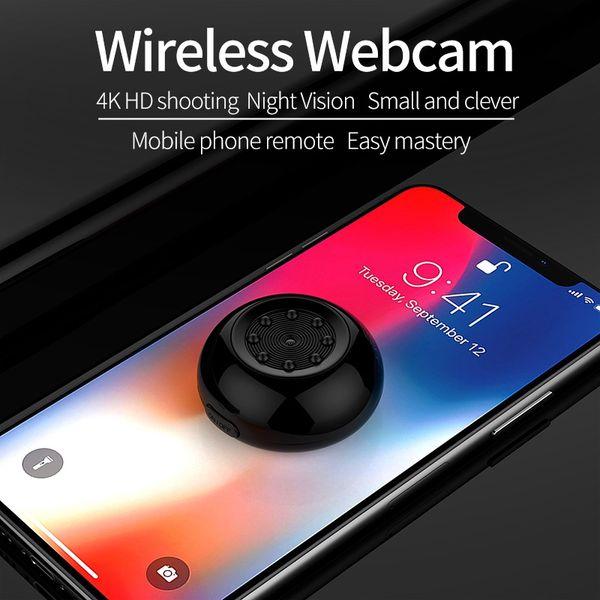 SQ17 4K WiFi Mini Camera Sports DVR HD 1080P IR Night Vision Motion Sensor Body Cam Digital Video Voice Recorder Micro Camcorder