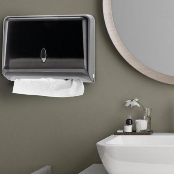Acheter Tiroir Organisateur Salle De Bain Étanche Boîte En Plastique Papier  Toilette Mural Boîte De Rangement Serviette Distributeur ZJ0717 Porte ...