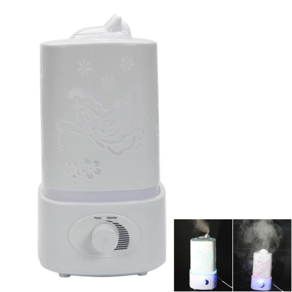 Difusor de alta calidad de la fragancia del humectador de la luz de la noche elegante Design1.8L con la lámpara de la noche del LED para el Ministerio del Interior