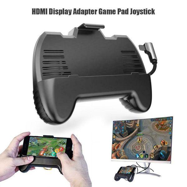 Gamepad mobile multifunzione Adattatore HDMI Game Pad Joystick per iOS Telefono Android iPhone iPad Samsung Tablet TV Controller PUBG