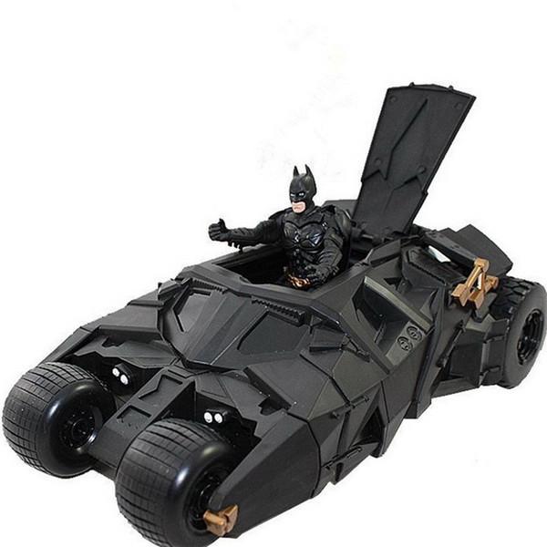 2018 Fashion Hot Sale Anime Action Figures Batman Dolls Tumbler Batmobile ToyS New Year Birthday Gifts For Children Kids