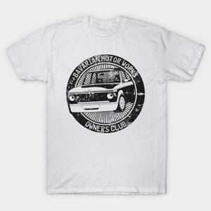 Bavarian Motor Works Camiseta divertida para fanáticos Color blanco Estilo casual