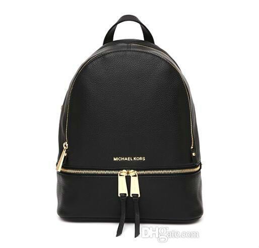 top popular 2018 New Fashion Women Famous Backpack Style Bag Handbags For Girls School Bag Women Luxury Designer Shoulder Bags Purse 2020