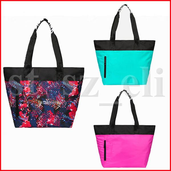 Femmes Rose Sacs à bandoulière sac de maquillage sac à main Sacs Voyage Duffle Secret Beach cosmétique Sac 4 couleurs