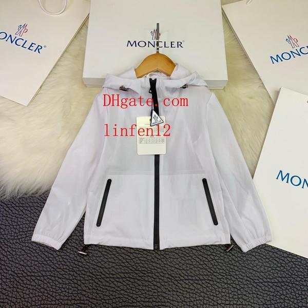 Детская одежда Девочки мальчик Солнцезащитная одежда Сплошной цвет Куртка Пиджаки с шапками Молния Модные детские пальто детские спортивные костюмы mo3