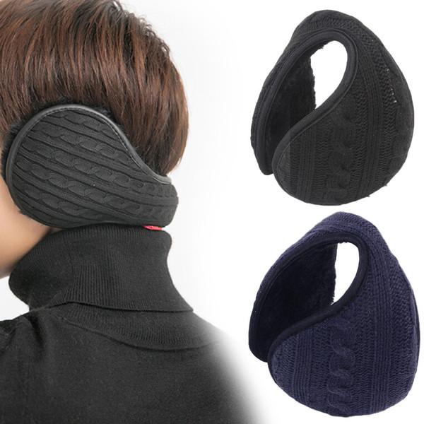 2018 Mens Winter Casual Warm Ear Muffs Earflaps Women Girls Flannel Fur Earmuffs Ear Warmer Cover Wrap Band orejeras Orejeras