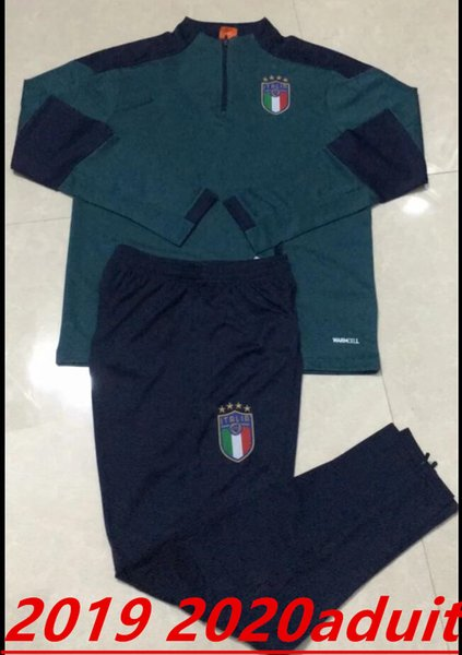 19 2020 Itália agasalho terno treinamento 19 20 adulta italiana treino INSIGNE Verratti MARCHISIO GHIELLINI chandal treino de manga comprida
