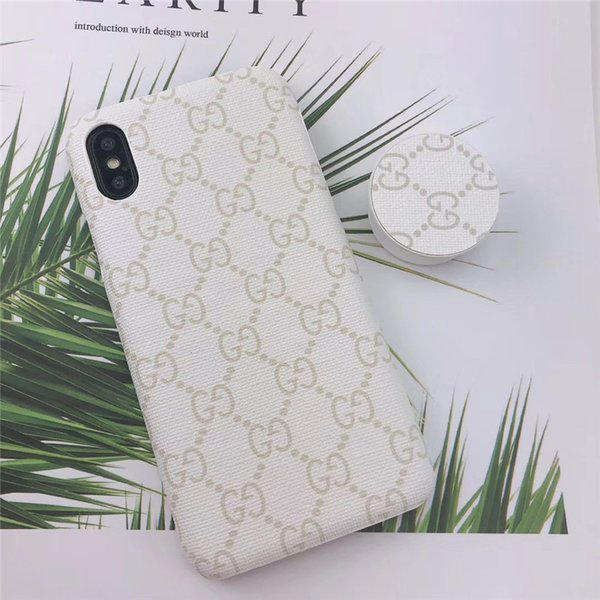 One Piece luxury phone case fashion For iPhone 6S 7 8 P X XS Paint Designer phone back cover with Kickstand For gifts