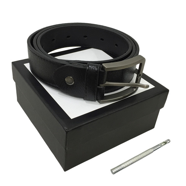 best selling Belts Womens Belt Mens Belts Leather Black Belts Women Snake Big Gold Buckle Men Classic Casual Pearl Belt Ceinture White Box 77 654