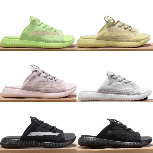 2019 Hot Fashion para hombre diseñador de lujo zapatillas sandalias Arcilla negra GLOW ANTLIA Venom Synth Lundmark mujeres sandalias sandalias zapatos diapositivas