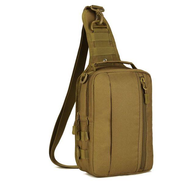 2019 New Men Waterproof 1000d Nylon Military Travel Riding High Capacity Sling Shoulder Messenger Chest Ipad Bag Y190701