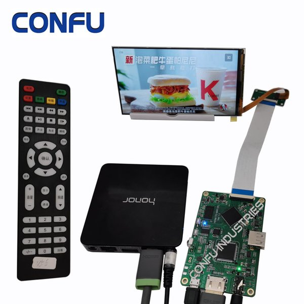 Confu HDMI to MIPI DSI driver board for TV Box 5.9inch 1080P HD Adaptive Rotate& Scaler Android Raspberry pi Projector PS4 Camera USB China
