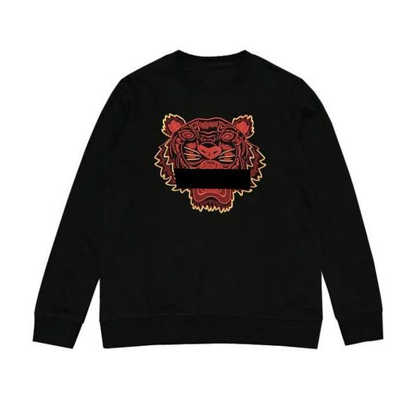 Venta caliente del diseñador del Mens sudaderas con capucha de la nueva marca de Calle Para Hombres sudaderas con Tiger bordado OZNEK impresión de lujo de invierno Hombres Mujeres Sudaderas