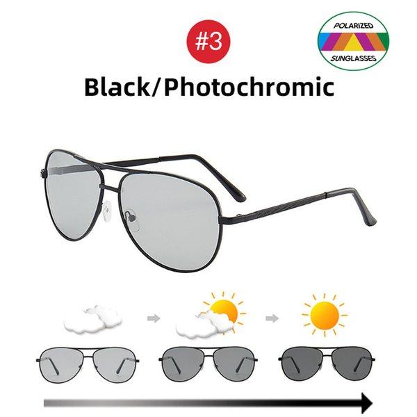 3 Black Photochromic