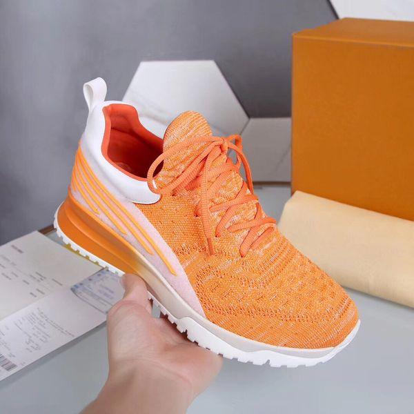 Sneakers VNR Tasarımcı Ayakkabı Turuncu Renk Eğitmen Ayakkabı Koşu Ayakkabıları Ile Yeni Ayakkabı Adam 2019 Eğitmenler Ayakkabı Kutusu, makbuz