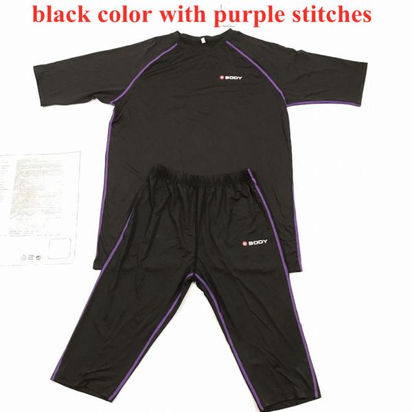 Size S (Black with purple stitching)