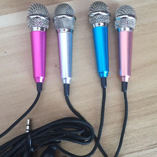 MINI Jack 3.5mm Lavalier Professionelles Mikrofon Handmikrofon Für Handy Computer Für iPhone Samsung Karaoke Mikrofon