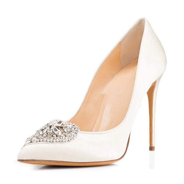 Mulheres Bombas 2019 Sexy Sapatos de Salto Alto em Forma de Coração Dedo Apontado Vestido de Festa Sapatos de Salto Grosso Sapatos de Plataforma Arco Mulheres Noite Out Clube Sapatos