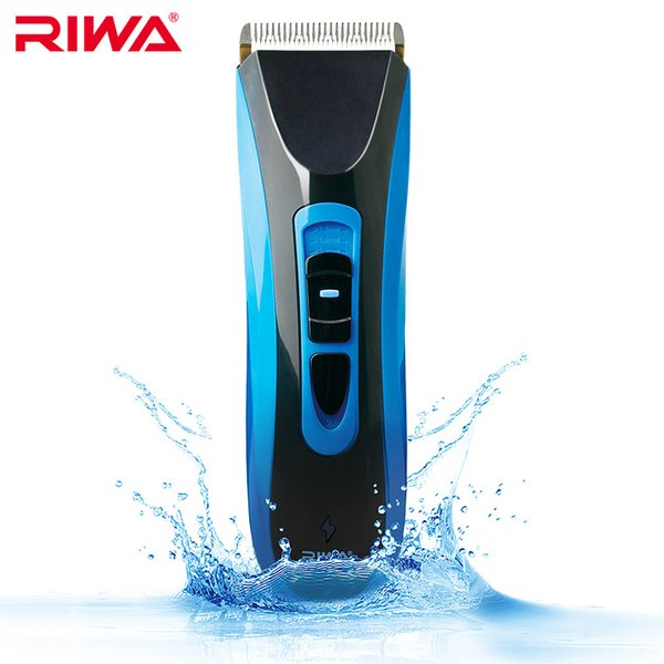 iwa professional clipper Riwa Professional Clipper Cordless Grooming Kit Wet/Dry Rechargeable Men's Hair Trimmer Shaver Haircut Machin...