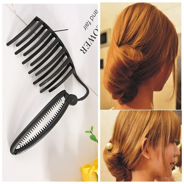 Professional Hair Styling Tools For Office Lady Braided Hair Device Flaxen Salon Tools For Women Lady Bun Styling Tools The Perfect Bun Tool From