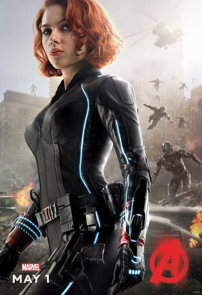 MARVEL The Avengers Age of Ultron Natasha Black Widow Decor Art Silk Poster 24x36inch 24x43inch