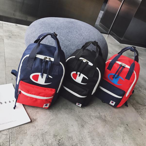 3styles letter printed kids backpack bag outdoor travel sport backpack student fashion backpack rucksack 21*13*29cm FFA1956