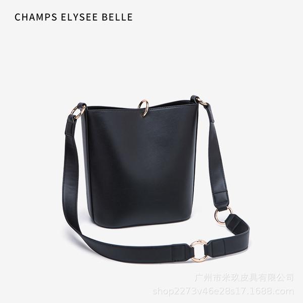 2020 새로운 패션 핸드백 어깨에 매는 가방 메신저 가방 버킷 사진 핸드백