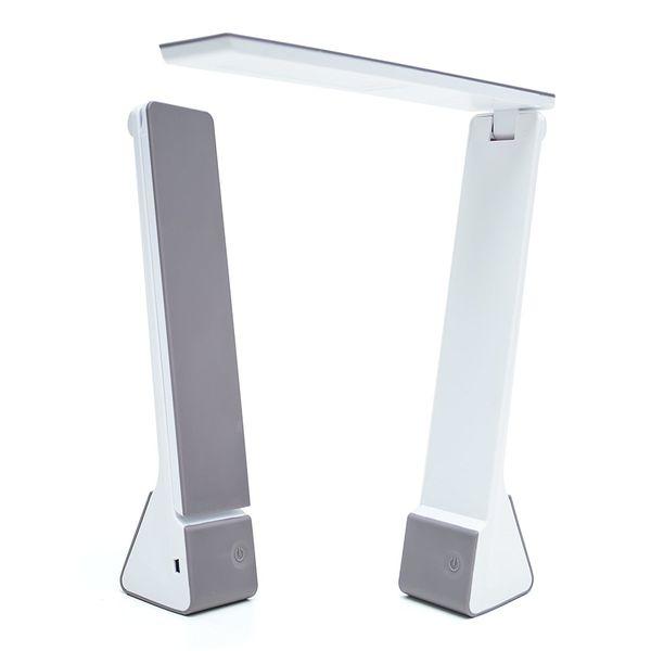 Portable della lampada da tavolo a LED con batteria ricaricabile, Dimensione viaggio, 3 scelte di illuminazione di lettura / Relax lampade da tavolo a led / studio