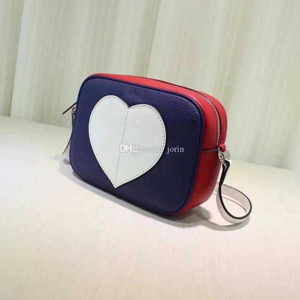 Freies Verschiffen 2017 neuer Kurierbeutel-Schulter-Beutel-Minimode Reißverschluss, heart-shaped packagebag Frauensternlieblingsperfektes Minipaket