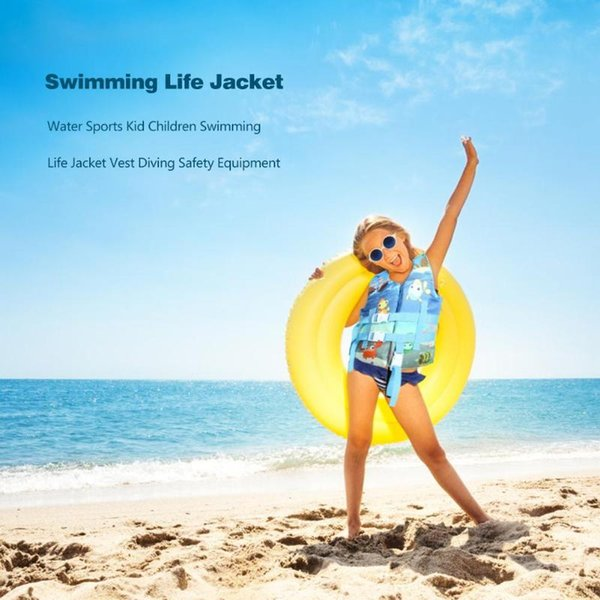 1 PC Water Sports Kid Children Swimming Life Jacket Vest Diving Safety Equipment for Boys Girls Child Swimming Safety