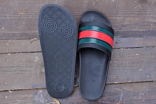 supportsport / Marca Hombre Mujer huaraches Sandalias Zapatos de diseño Zapatos de verano Deslizamiento Ancho Plano Resbaladizo Sandalias de diseño Zapatillas con