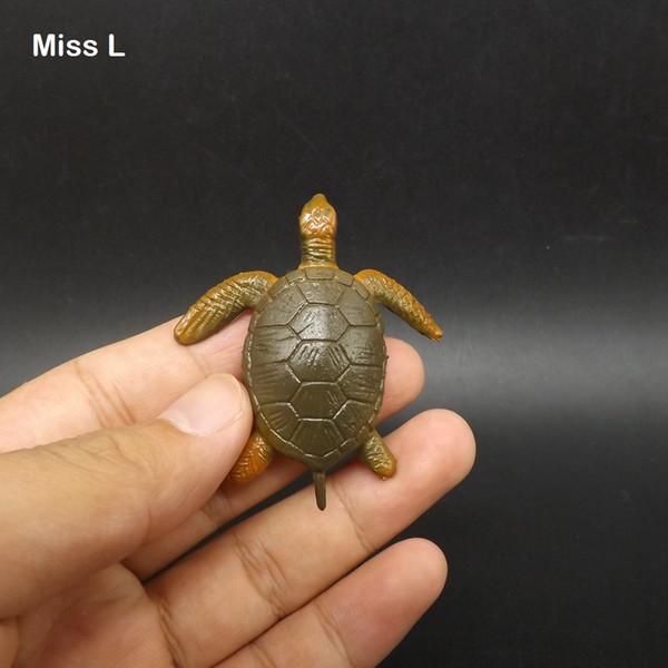 Мини-морских черепах Поддельный животных новизны Смешные игры детей игрушки