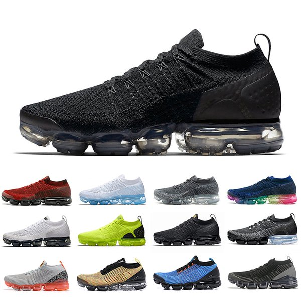 Men/'s Air 90 Cushion Fashion Sports Sneakers Casual Shoes Flyknit Flywire Women