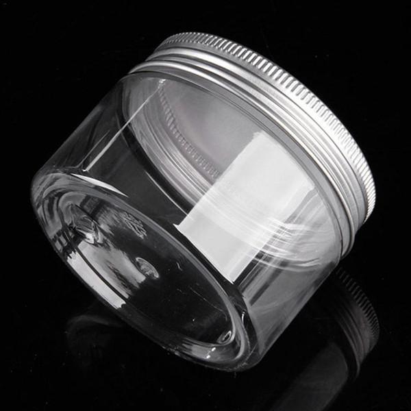 Frasco de plástico transparente y tapas Envases cosméticos Vacío bálsamo Maquillaje Caja de embotellado Botella de viaje 30 ml - 250 ml D19011701