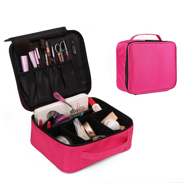 Organizer Travel Professional Vanity Cosmetic Bag Beautician Women Make Up Cases Big Capacity Cosmetics Suitcases For Makeup