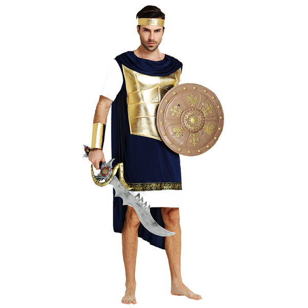 Adults Men Knight Costume Warrior Cosplay Costumes 377 Christmas Halloween Masquerade Party Dress Decoration