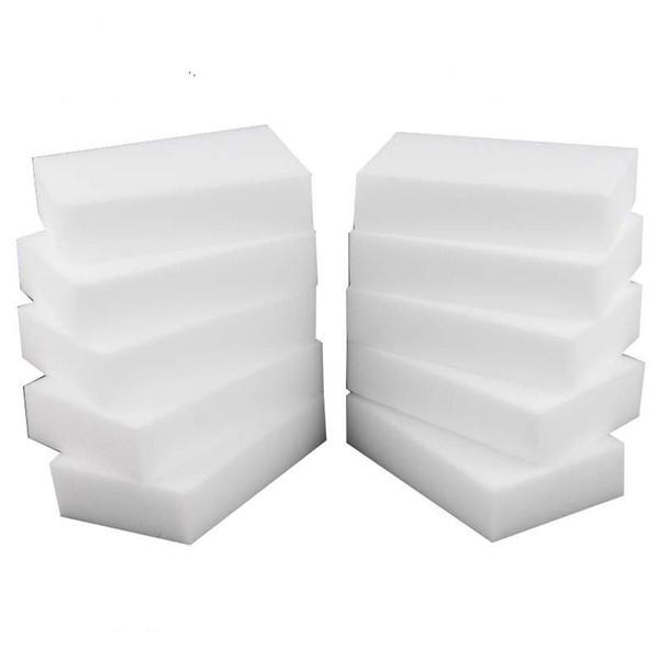 Esponja mágica Melamina Esponja Eraser Branco Para o teclado Do Carro Cozinha Limpeza Do Banheiro Melamina Clean Alta Desidade
