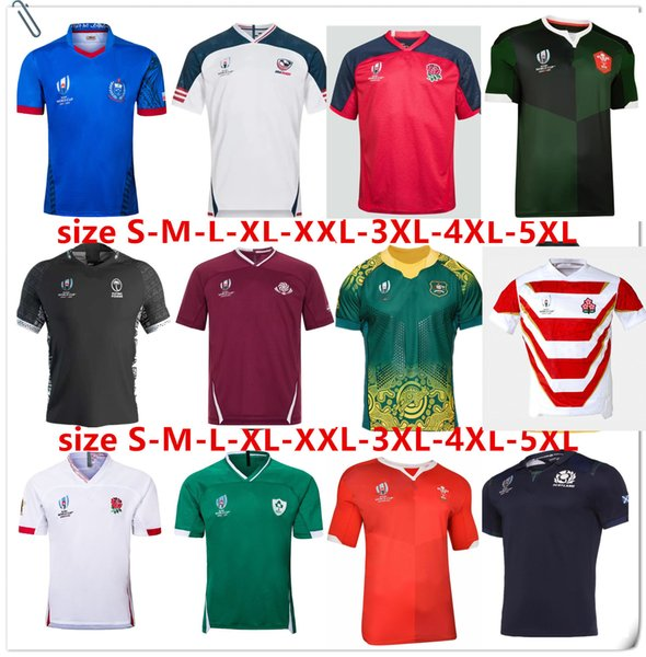 top popular 2019 2020 SCOTLAND Rugby ITALY Jerseys 19 20 Japan World Cup Australia Fiji Wales shirt Samoa New Zealand SUPER RUGBY jersey Size S-5XL 2019