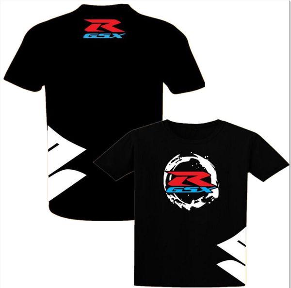 2018 Neue Mode Suzuki GSX R Motorsport Team Logo T-shirt Männer Baumwolle Kurzarm Benutzerdefinierte T shirts Europäische Größe XS-XXL