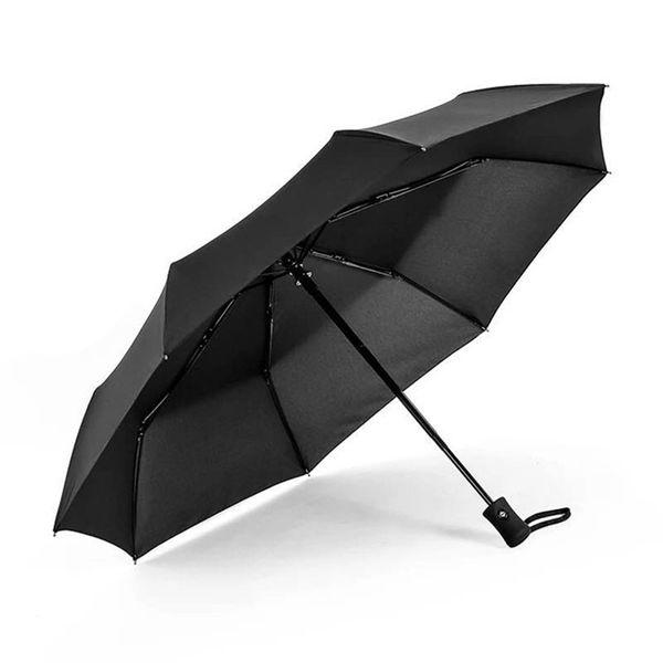 Ombrello automatico di secchio del portatile della pioggia solare portatile di auto impermeabile che piega i colori piani pieganti antivento del regalo di modo del bottone